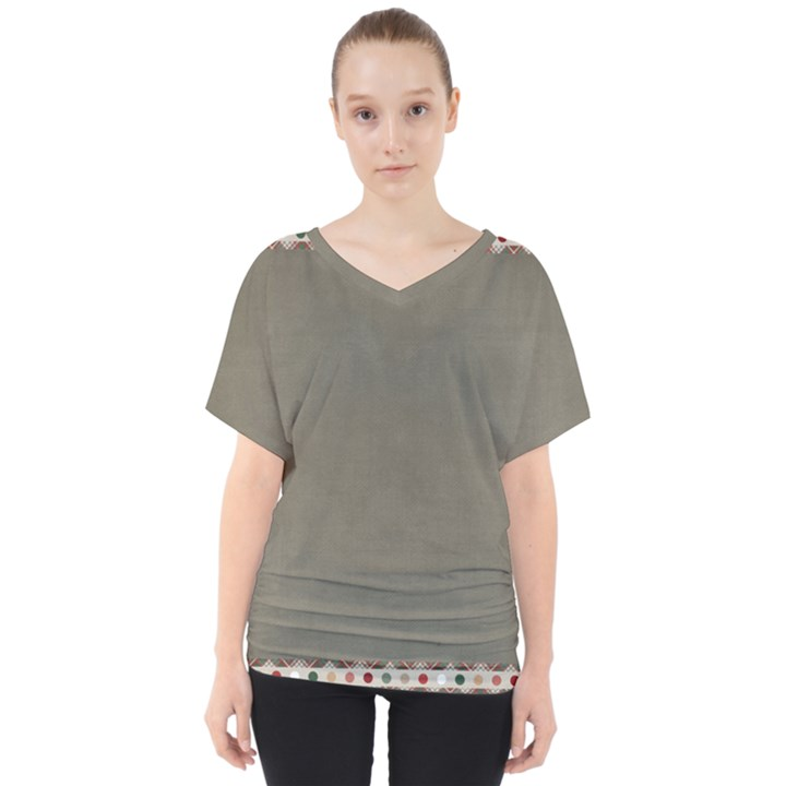 Background 1706644 1920 V-Neck Dolman Drape Top