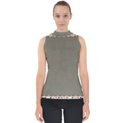 Background 1706644 1920 Mock Neck Shell Top