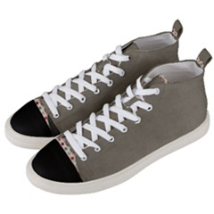 Background 1706644 1920 Men s Mid-Top Canvas Sneakers