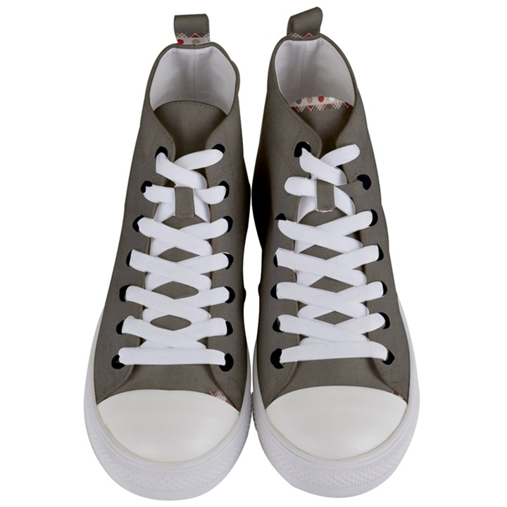Background 1706644 1920 Women s Mid-Top Canvas Sneakers