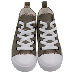 Background 1706644 1920 Kid s Mid Top Canvas Sneakers