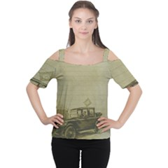 Background 1706642 1920 Cutout Shoulder Tee