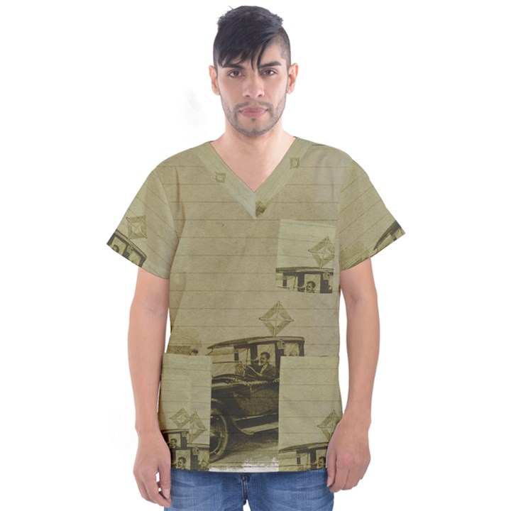 Background 1706642 1920 Men s V-Neck Scrub Top