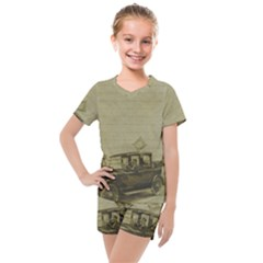 Background 1706642 1920 Kids  Mesh Tee And Shorts Set