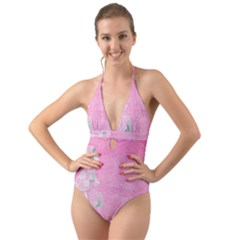 Tag 1659629 1920 Halter Cut-Out One Piece Swimsuit
