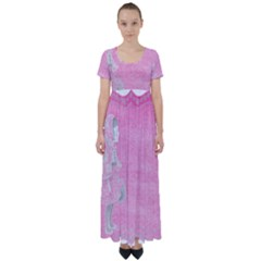 Tag 1659629 1920 High Waist Short Sleeve Maxi Dress