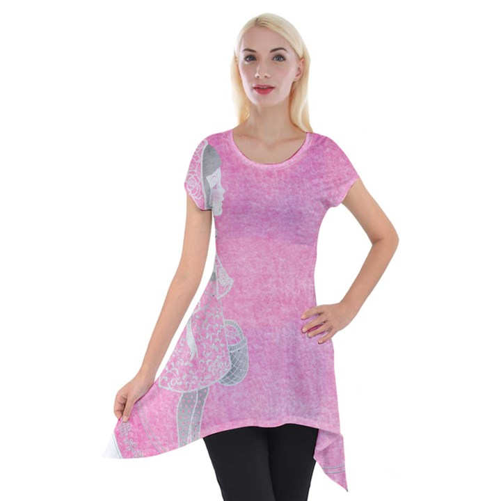 Tag 1659629 1920 Short Sleeve Side Drop Tunic