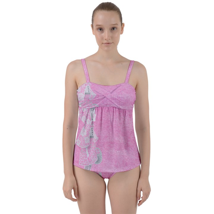 Tag 1659629 1920 Twist Front Tankini Set