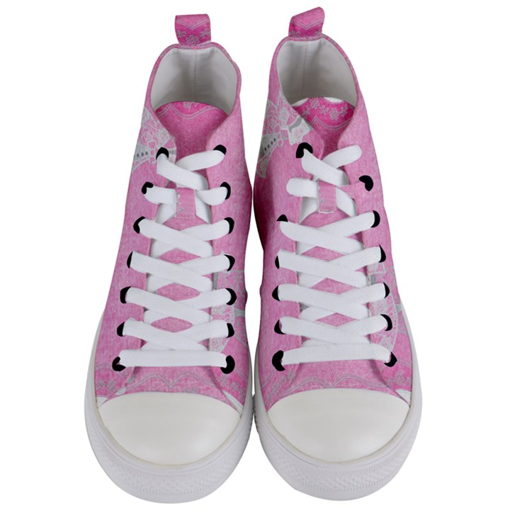 Tag 1659629 1920 Women s Mid-Top Canvas Sneakers