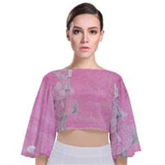 Tag 1659629 1920 Tie Back Butterfly Sleeve Chiffon Top