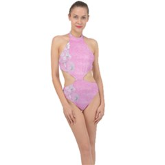 Tag 1659629 1920 Halter Side Cut Swimsuit