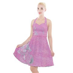 Tag 1659629 1920 Halter Party Swing Dress  by vintage2030