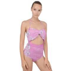 Tag 1659629 1920 Scallop Top Cut Out Swimsuit