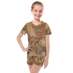 Background 1660940 1920 Kids  Mesh Tee And Shorts Set by vintage2030