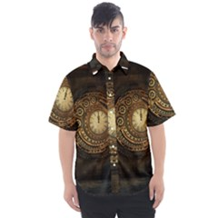 Steampunk 1636156 1920 Men s Short Sleeve Shirt