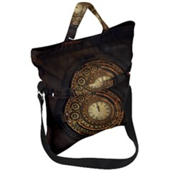 Steampunk 1636156 1920 Fold Over Handle Tote Bag by vintage2030