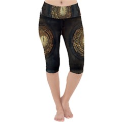 Steampunk 1636156 1920 Lightweight Velour Cropped Yoga Leggings