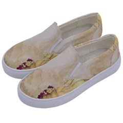 Background 1659622 1920 Kids  Canvas Slip Ons by vintage2030