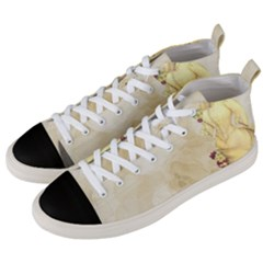 Background 1659622 1920 Men s Mid Top Canvas Sneakers by vintage2030