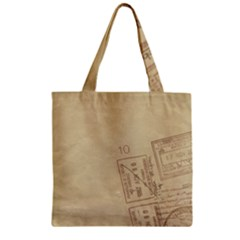 Background 1659638 1920 Zipper Grocery Tote Bag by vintage2030