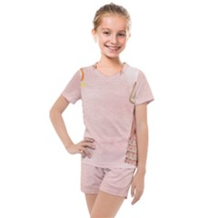 Background 1659765 1920 Kids  Mesh Tee And Shorts Set