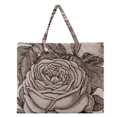 Flowers 1776630 1920 Zipper Large Tote Bag by vintage2030