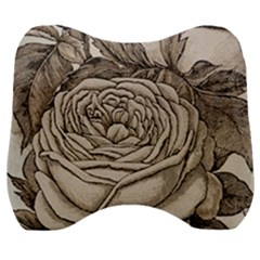 Flowers 1776630 1920 Velour Head Support Cushion by vintage2030