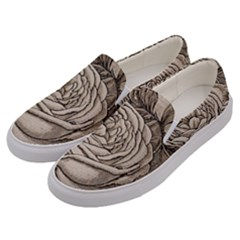 Flowers 1776630 1920 Men s Canvas Slip Ons by vintage2030