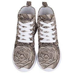 Flowers 1776630 1920 Women s Lightweight High Top Sneakers