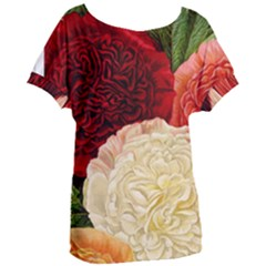 Flowers 1776584 1920 Women s Oversized Tee by vintage2030
