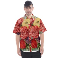 Flowers 1776541 1920 Men s Short Sleeve Shirt