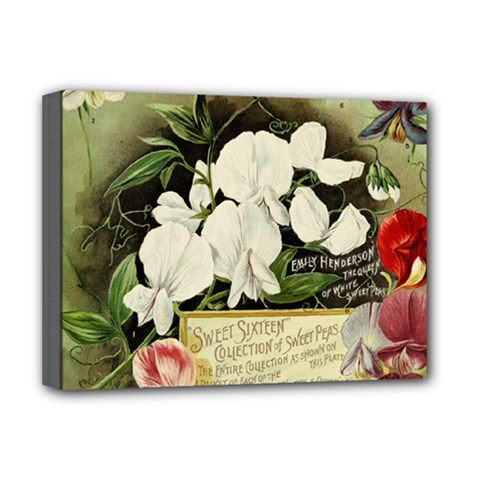 Flowers 1776617 1920 Deluxe Canvas 16  X 12  (stretched)  by vintage2030