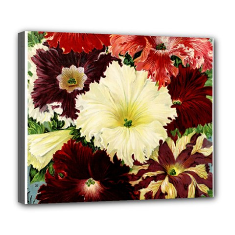 Flowers 1776585 1920 Deluxe Canvas 24  X 20  (stretched) by vintage2030