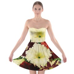 Flowers 1776585 1920 Strapless Bra Top Dress by vintage2030