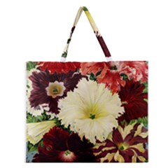 Flowers 1776585 1920 Zipper Large Tote Bag by vintage2030