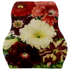 Flowers 1776585 1920 Car Seat Velour Cushion  by vintage2030