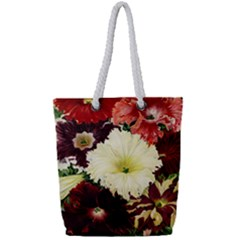 Flowers 1776585 1920 Full Print Rope Handle Tote (small) by vintage2030