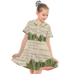 Flowers 1776422 1920 Kids  Short Sleeve Shirt Dress