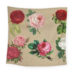 Flower 1770189 1920 Square Tapestry (large) by vintage2030