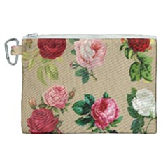 Flower 1770189 1920 Canvas Cosmetic Bag (xl) by vintage2030