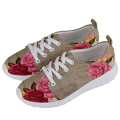 Flower 1646069 1920 Women s Lightweight Sports Shoes by vintage2030