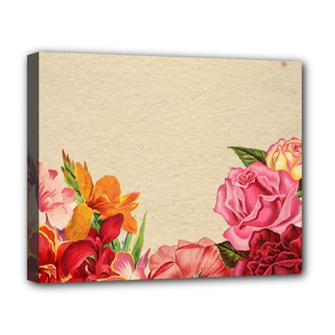 Flower 1646035 1920 Deluxe Canvas 20  X 16  (stretched) by vintage2030