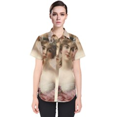 Vintage 1501573 1280 Women s Short Sleeve Shirt by vintage2030