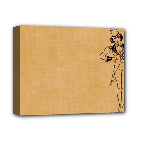 Flapper 1515869 1280 Deluxe Canvas 14  X 11  (stretched) by vintage2030