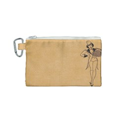 Flapper 1515869 1280 Canvas Cosmetic Bag (small)