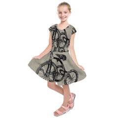 Tricycle 1515859 1280 Kids  Short Sleeve Dress by vintage2030