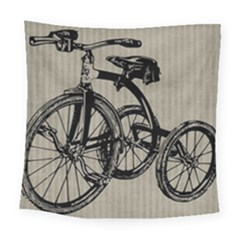 Tricycle 1515859 1280 Square Tapestry (large) by vintage2030