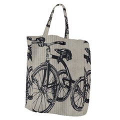Tricycle 1515859 1280 Giant Grocery Tote by vintage2030