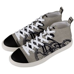 Tricycle 1515859 1280 Men s Mid Top Canvas Sneakers by vintage2030