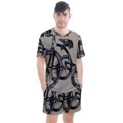 Tricycle 1515859 1280 Men s Mesh Tee And Shorts Set by vintage2030